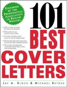 101 Best Cover Letters, Paperback Book