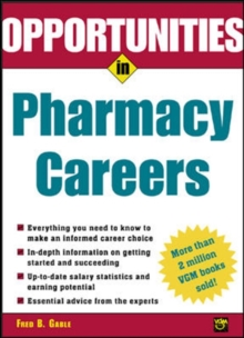 Opportunties in Pharmacy Careers, Paperback / softback Book