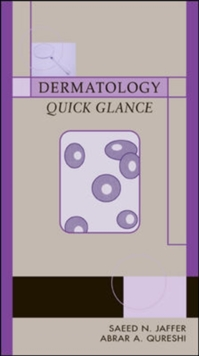 Dermatology Quick Glance, Paperback / softback Book