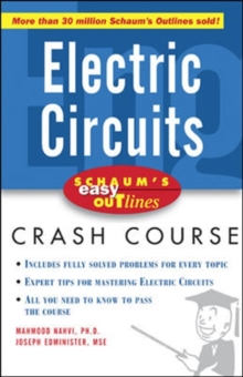 Schaum's Easy Outline of Electric Circuits, Paperback / softback Book