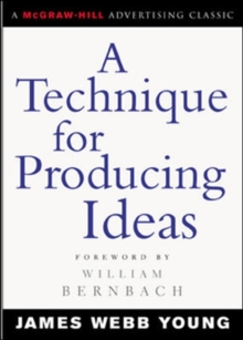 A Technique for Producing Ideas, EPUB eBook