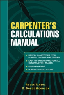 Carpenter's Calculations Manual, Paperback / softback Book