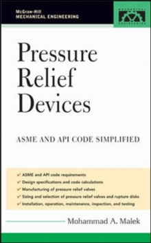 Pressure Relief Devices, Hardback Book