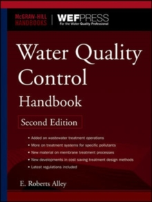 Water Quality Control Handbook, Second Edition, Hardback Book