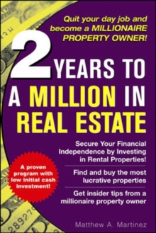 2 Years to a Million in Real Estate, Paperback / softback Book