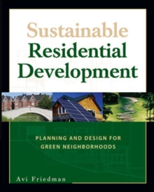 Sustainable Residential Development, Paperback / softback Book