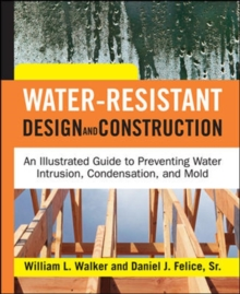 Water-Resistant Design and Construction, Hardback Book