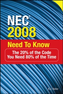 NEC (R) 2008 Need to Know, Paperback / softback Book