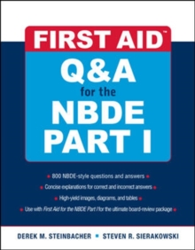 First Aid Q&A for the NBDE Part I, Paperback / softback Book