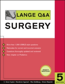 Lange Q&A Surgery, Fifth Edition