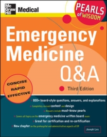 Emergency Medicine Q&A: Pearls of Wisdom, Third Edition, Paperback / softback Book