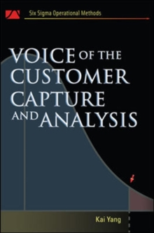 Voice of the Customer : Capture and Analysis