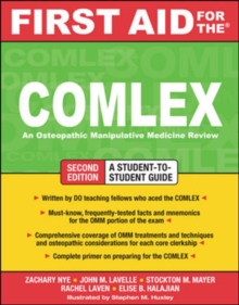 First Aid for the COMLEX, Second Edition, Paperback / softback Book