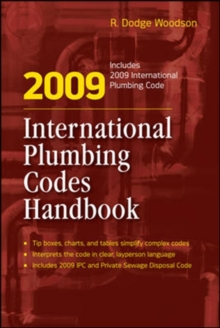 2009 International Plumbing Codes Handbook