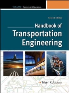 Handbook of Transportation Engineering Volume I, 2e, Hardback Book