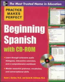 Practice Makes Perfect Beginning Spanish with CD-ROM, Book Book