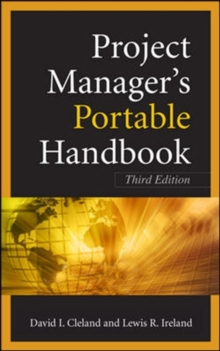 Project Managers Portable Handbook, Third Edition, Paperback / softback Book
