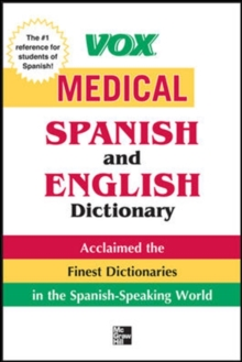 Vox Medical Spanish and English Dictionary
