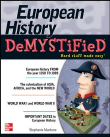 European History DeMYSTiFieD, Paperback / softback Book