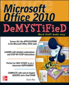 Microsoft Office 2010 Demystified, Paperback / softback Book