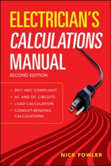 Electrician's Calculations Manual, Second Edition, Paperback / softback Book