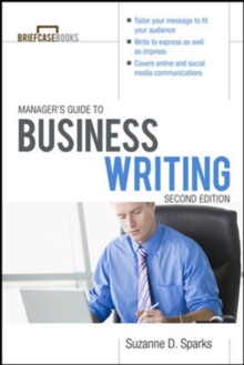 Manager's Guide To Business Writing 2/E, Paperback / softback Book