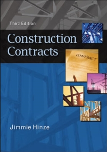 Construction Contracts, Hardback Book