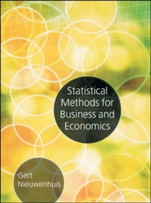 Statistical Methods for Business and Economics, Paperback Book