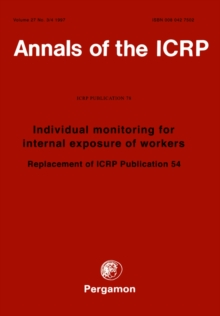 ICRP Publication 78 : Individual Monitoring for Internal Exposure of Workers
