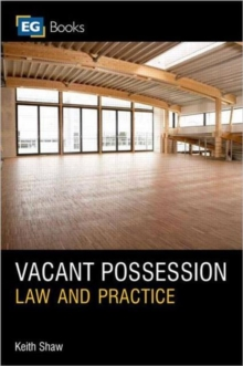 Vacant Possession, Paperback / softback Book