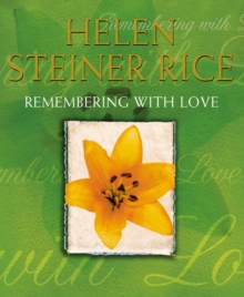 Remembering with Love, Hardback Book