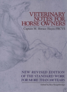 Veterinary Notes For Horse Owners, Paperback Book