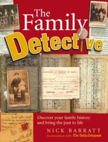 The Family Detective, Paperback Book