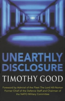 Unearthly Disclosure, Paperback Book