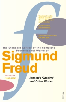 Complete Psychological Works Of Sigmund Freud, The Vol 9, Paperback Book