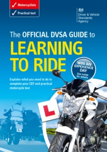 The official DVSA guide to learning to ride, Paperback Book