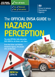 Official DVSA Guide to Hazard Perception, DVD-ROM Book