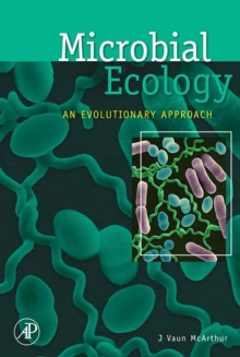 Microbial Ecology : An Evolutionary Approach, Hardback Book