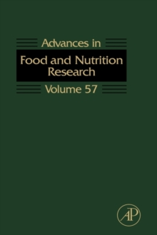 Advances in Food and Nutrition Research : Volume 57, Hardback Book