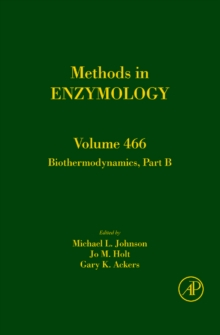 Biothermodynamics, Part B : Volume 466, Hardback Book