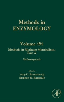 Methods in Methane Metabolism, Part A : Methanogenesis Volume 494, Hardback Book