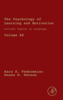 Current Topics in Language : Volume 68, Hardback Book