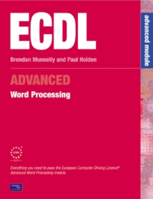 ECDL3 for Microsoft Office 2000 : Advanced Module Word Processing, Mixed media product Book
