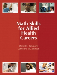 Math Skills for Allied Health Careers, Paperback / softback Book