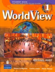 WorldView 1 with Self-Study Audio CD and CD-ROM Workbook, Paperback / softback Book