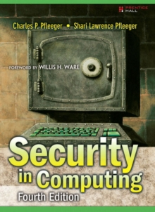 Security in Computing, Hardback Book