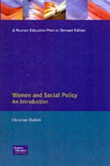 Women And Social Policy, Paperback Book