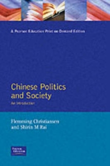 Chinese Politics and Society : An Introduction, Paperback Book