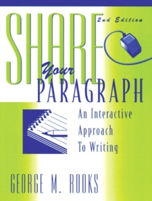 Share Your Paragraph, Paperback / softback Book