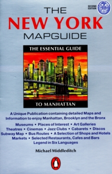 The New York Mapguide, Paperback Book